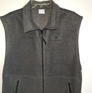 Columbia Sports Vest Charcoal Grey Large